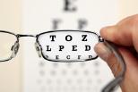 Sehtest mit Brille