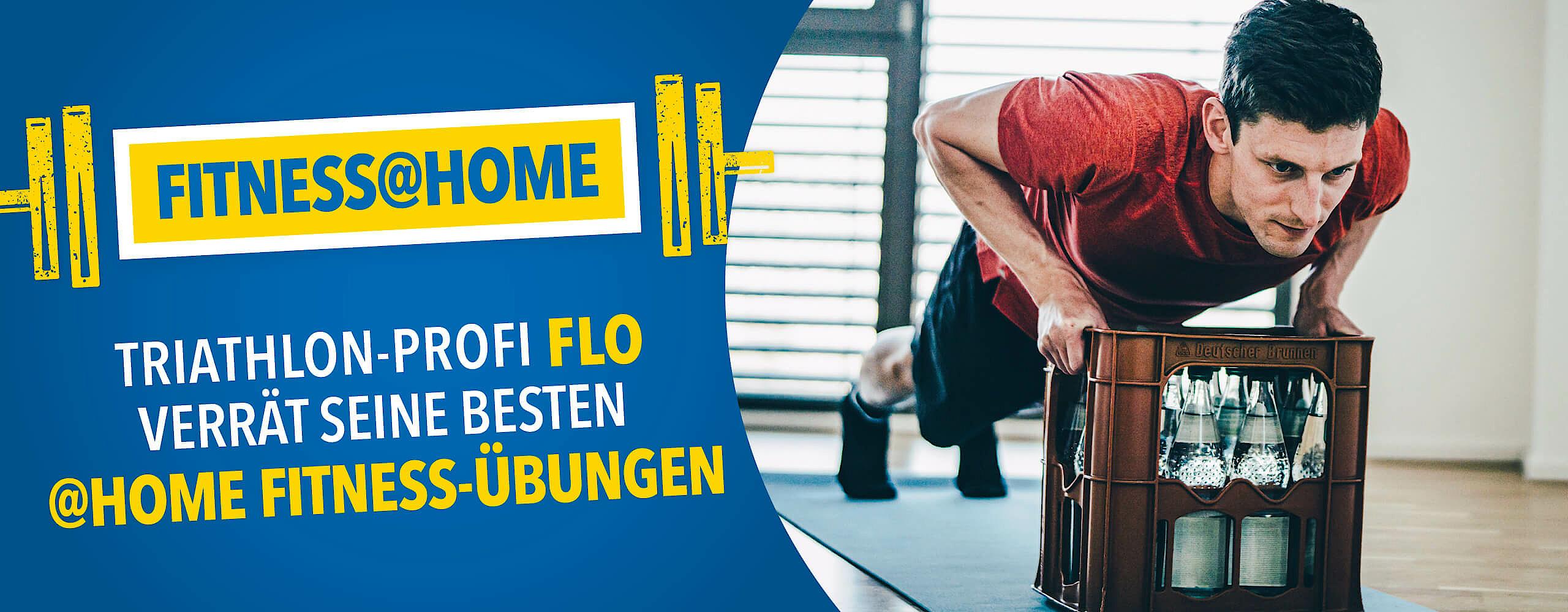 Fitness@home: Triathlon-Profi Florian Angert verrät seine besten @Home Fitness-Übungen
